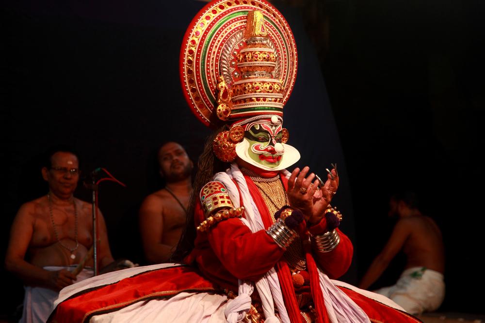 Kathakali Dance Performer
