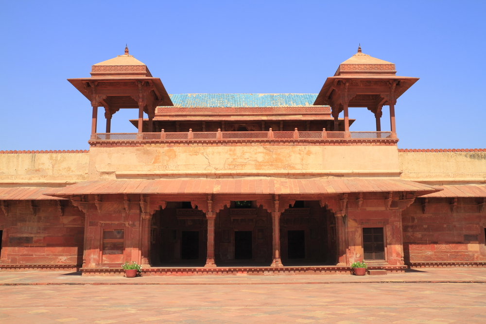 Fatehpur Sikri Is The Historical City Was Construc