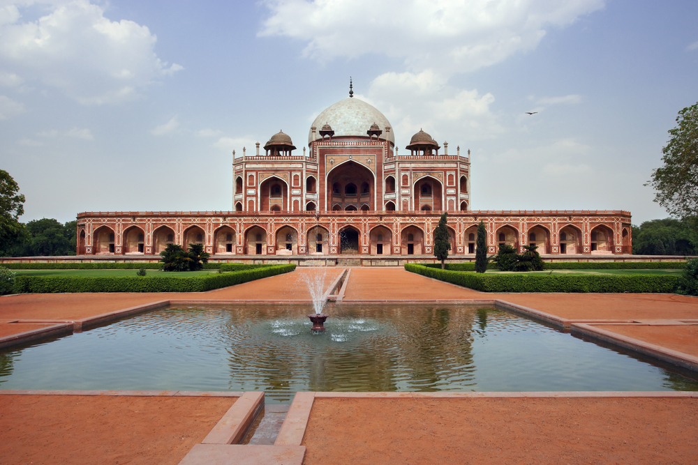 Humayun S Tomb In New Delhi India