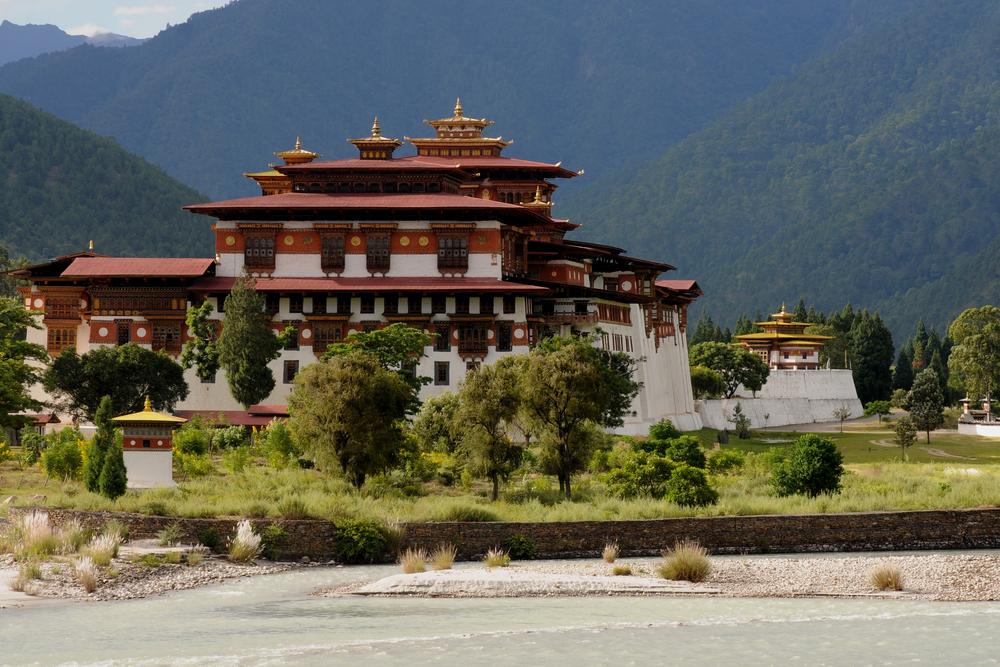 Monastery In Punakha