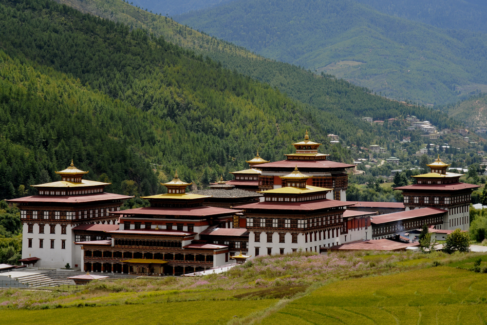 Monastery In Thimphu