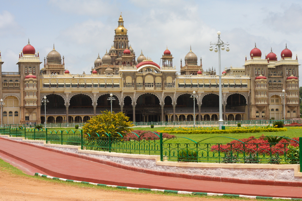 Mysore Palace In Karnataka India