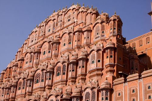 Palace Of The Wind In Jaipur India