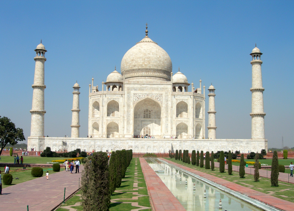 Taj Mahal In Agra In India