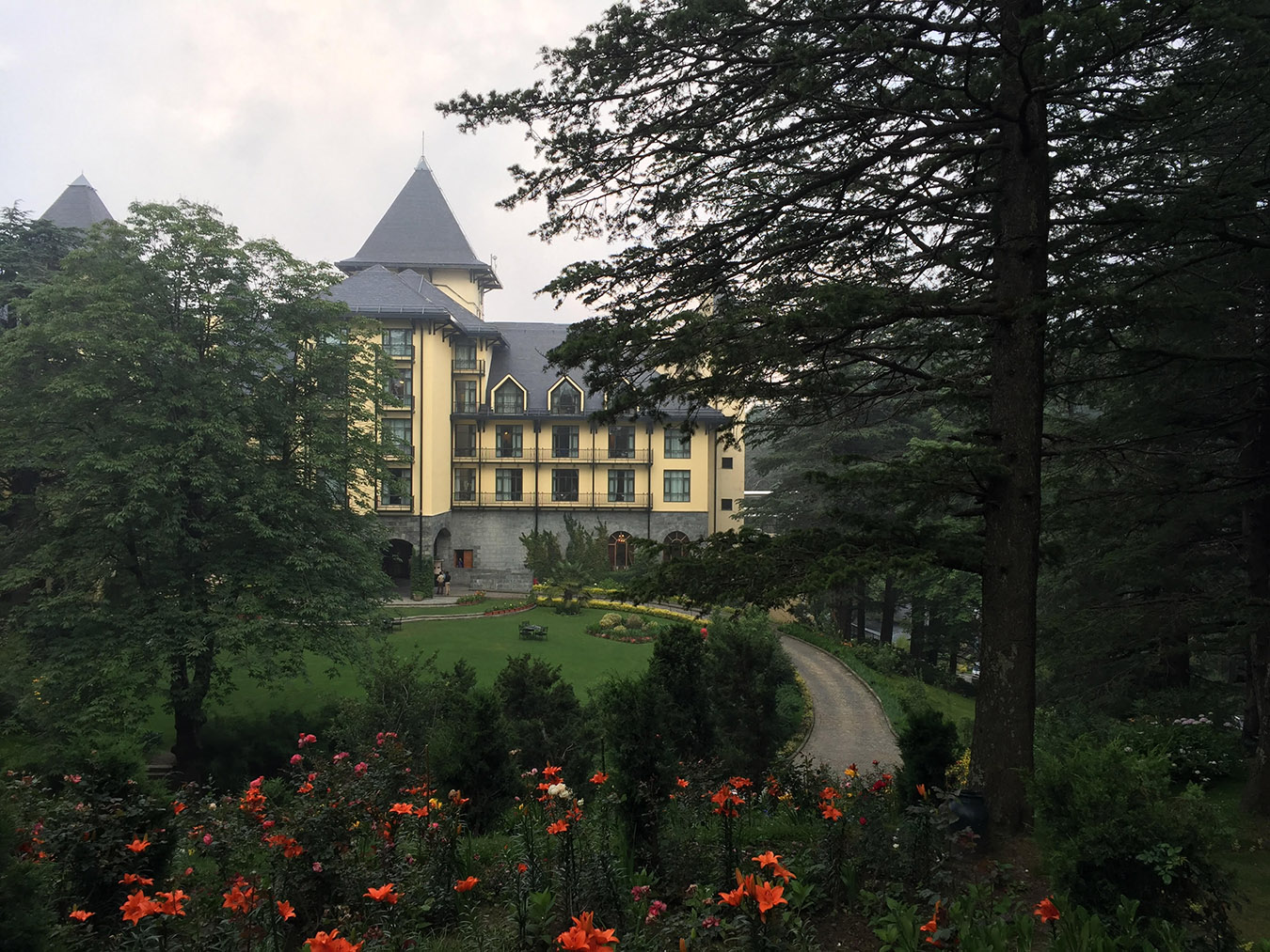 Travel in the Covid 19 era - Wildflower Hall , Mashobra ( near Shimla)