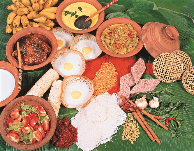 Culinary, Sri Lanka