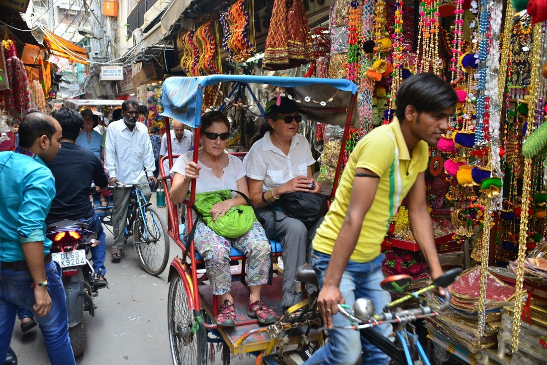 Cycle Rickshaw Ride In Old Delhi