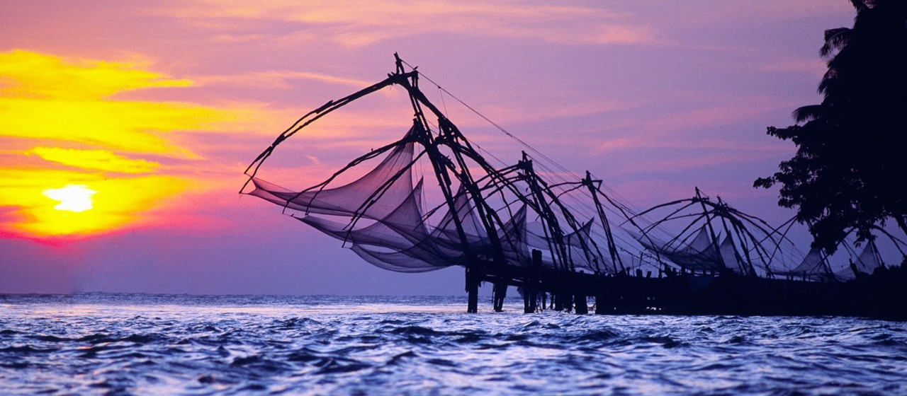 Fishing Nets In Cochin