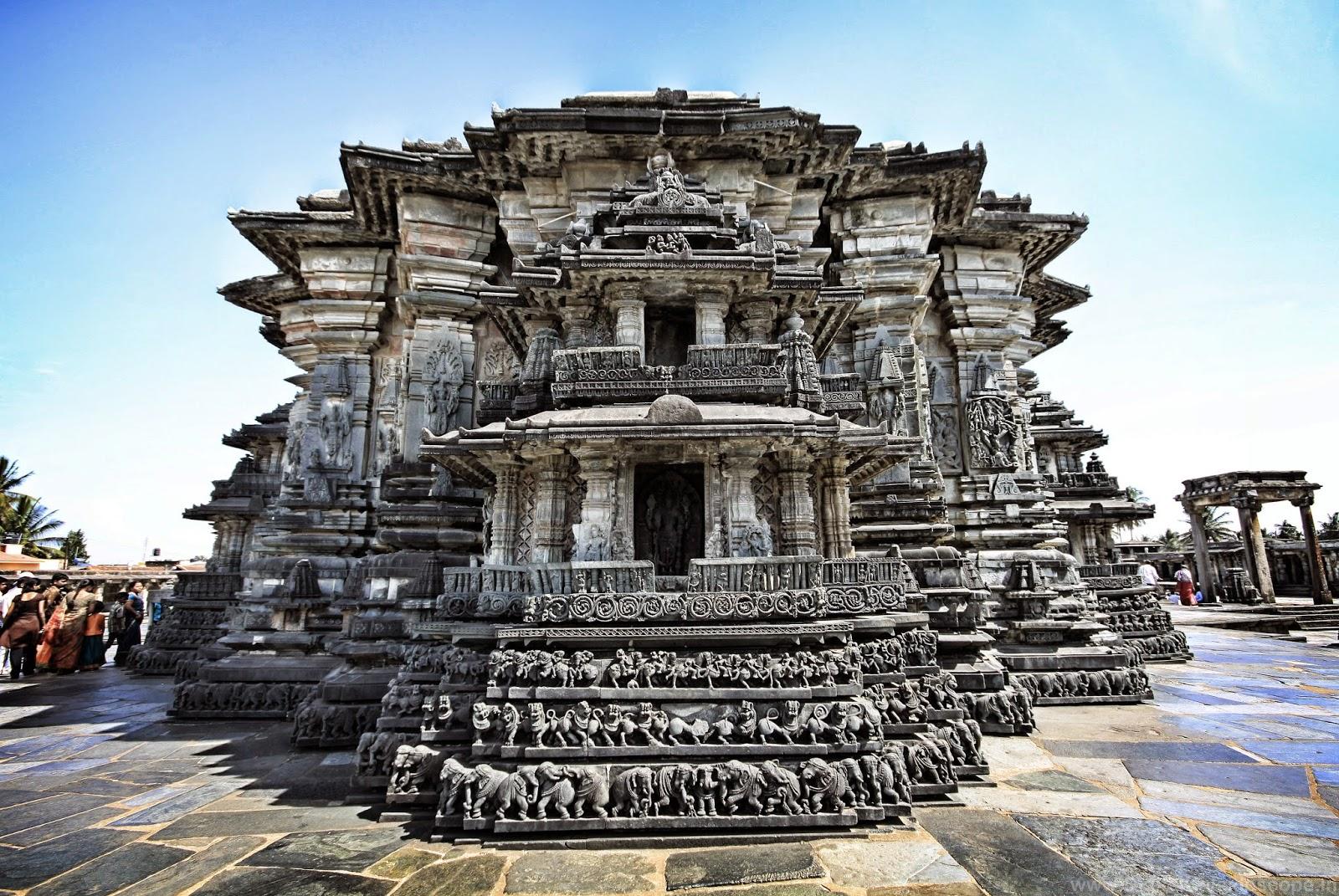 Hoysala Temples In Belur
