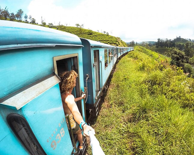 Train Ride In Kandy