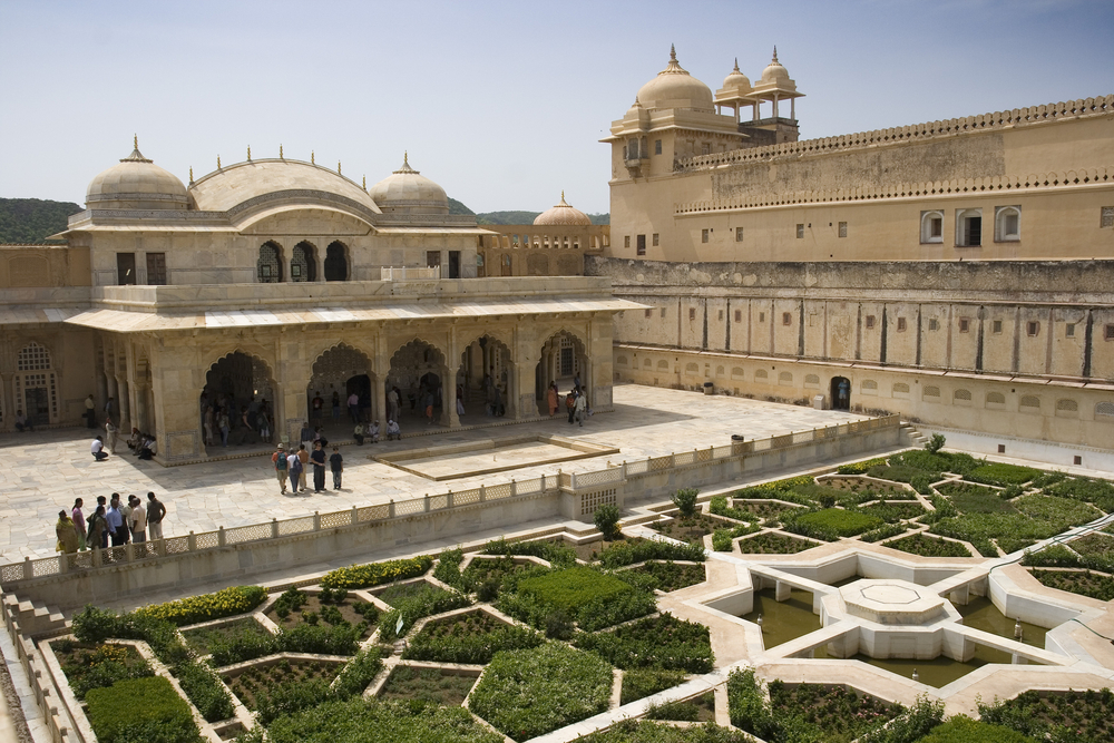 Amber Fort Courtyard Jaipur