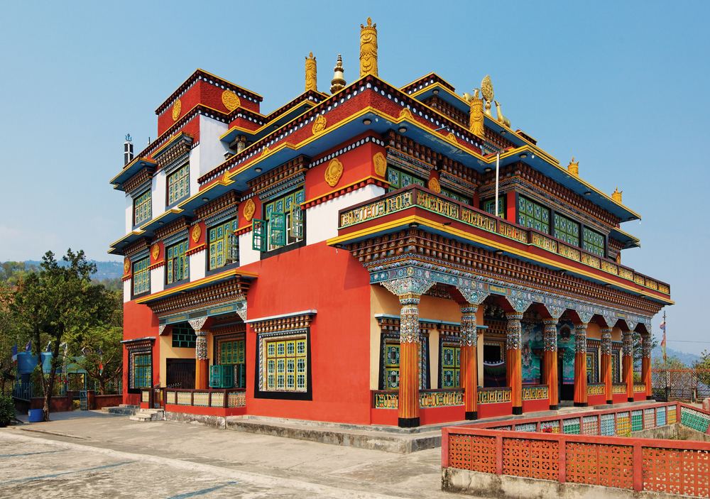 Buddhist Temple, Pokhara
