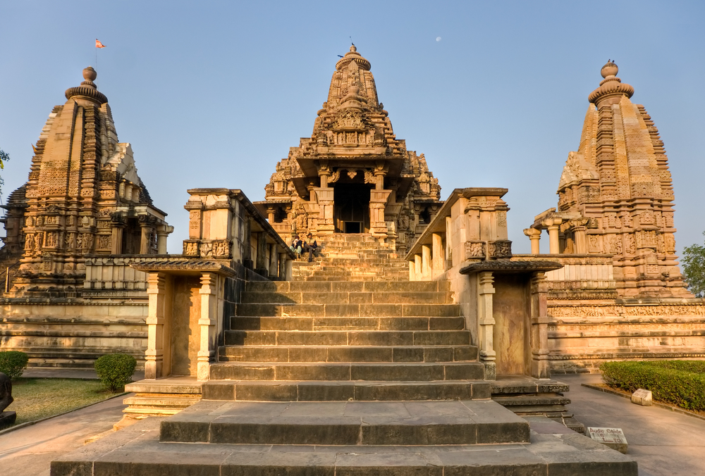 Erotic Temple In Khajuraho Madhya Pradesh India