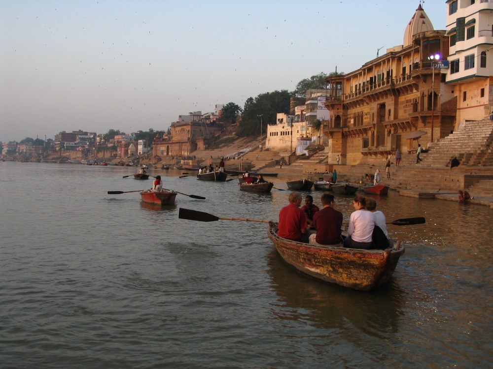 Boat ride on river Ganges, Varanasi