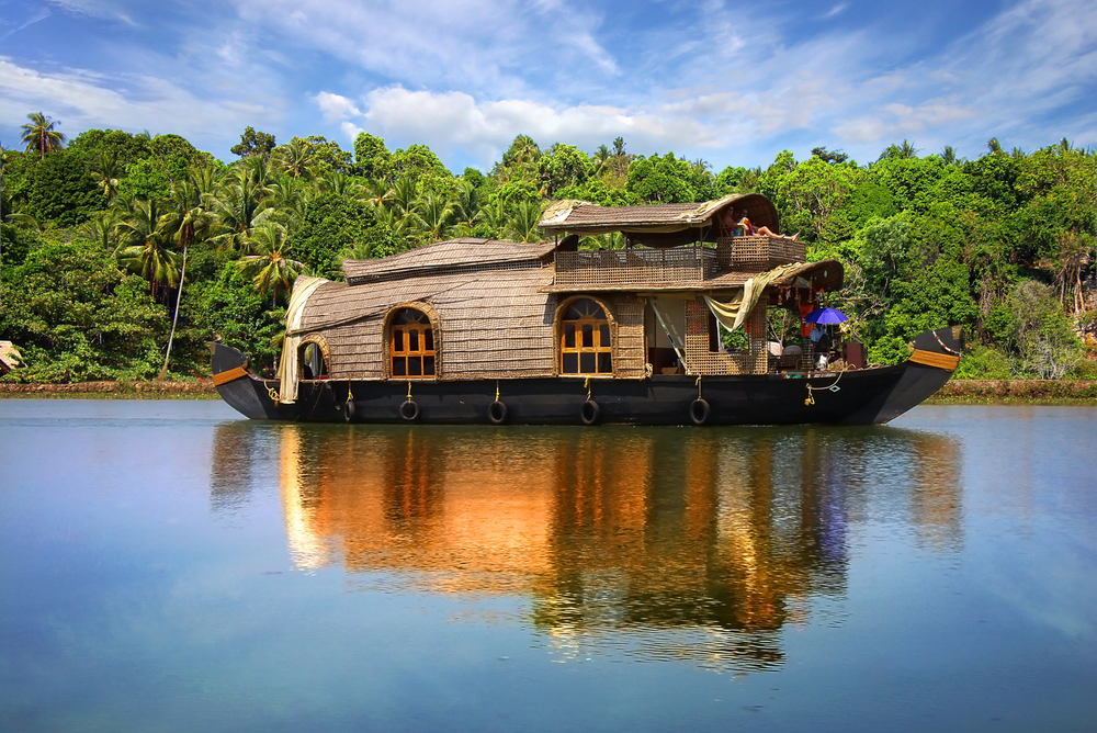 Houseboat on Backwaters of Kerala