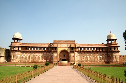 Jahangiri Mahal At Agra Fort Jahangiri Mahal Is Th