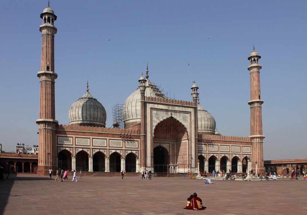 Jama Masjid Mosque Delhi India