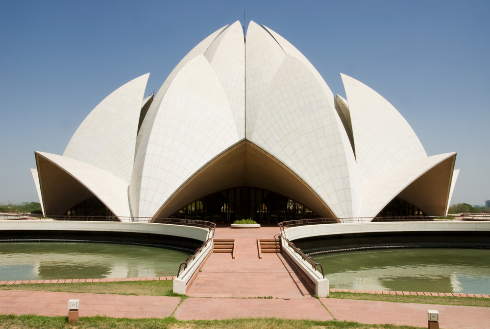 Lotus Temple In New Delhi India