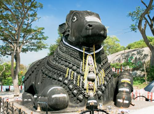 Nandi (Bull) Temple, Mysore