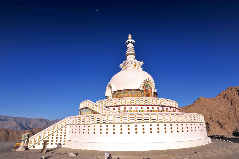 Shanti Stupa Leh-Ladakh