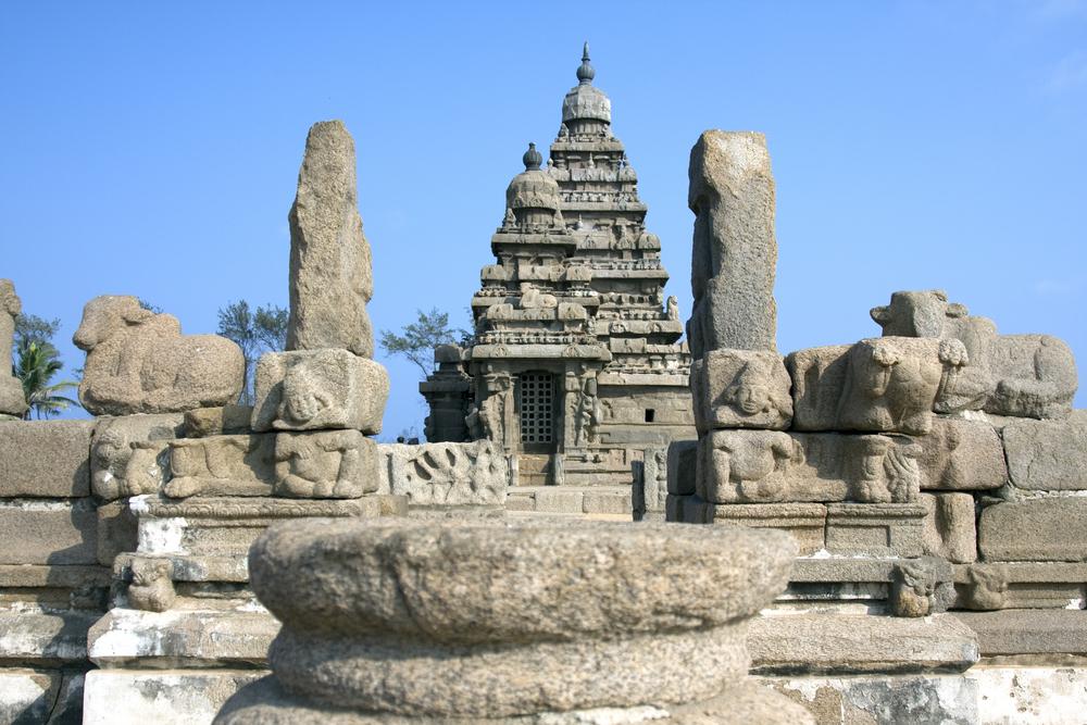 The Shore Temple, Mahabalipuram